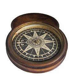 Dry Compass by J.M. Kleman, ca. 1790 (4) Car