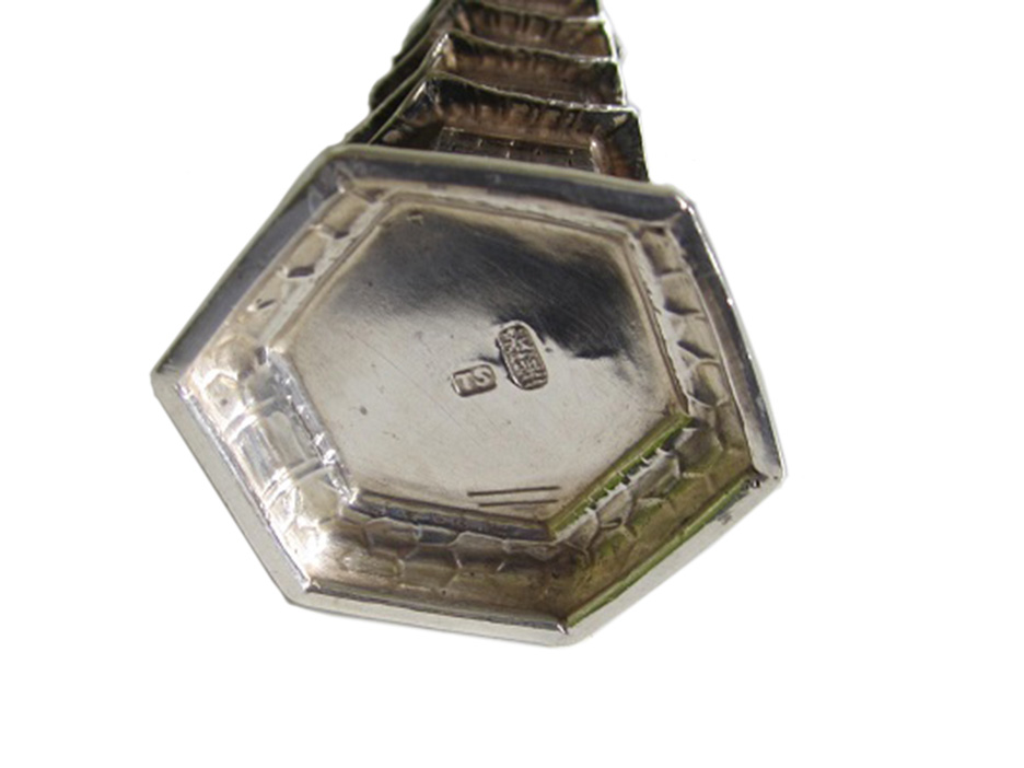 Maker's Mark Miniature Chinese Silver Pepperette