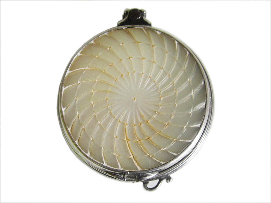 Silver & Mother of Pearl Magnifying Glass