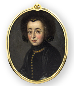 portrait-miniature-of-a -lady-wearing-a-fur-hat-preview