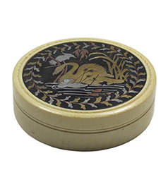 Tortoiseshell Piquéwork and Ivory Snuff Box (car)