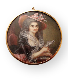 Augustin-Dubourg-Portrait-miniature-Lady-playing-music-Paris-1780-1785-car