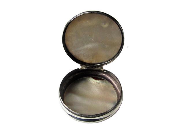Silver Erotic Snuff Box