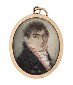Portrait-miniature-Hendrik-van-Overklift-1775-1824-car