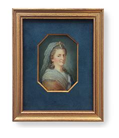 Portrait miniature of Maria Feodorovna, Empress consort of Russia