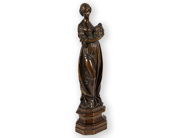Boxwood-sculpture-of-Salomé -with-the-head-of-John-the-Baptist