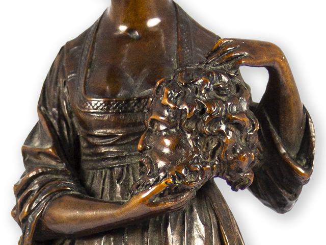 Boxwood-sculpture-of-Salomé -with-the-head-of-John-the-Baptist-detail