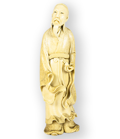Carved-Ivory-Okimono-of-Japanese-Immortal-Lu-preview