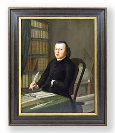 Johannes Petrus van Horstok portrait of a man in his study, Alkmaar ca. 1790 preview