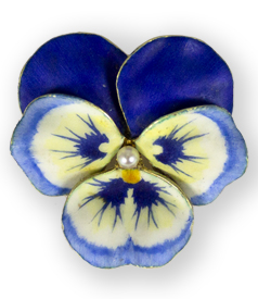 Art-Nouveau-14kt-enamel-blue-pansy-brooch-by-Hedges-New-York-preview